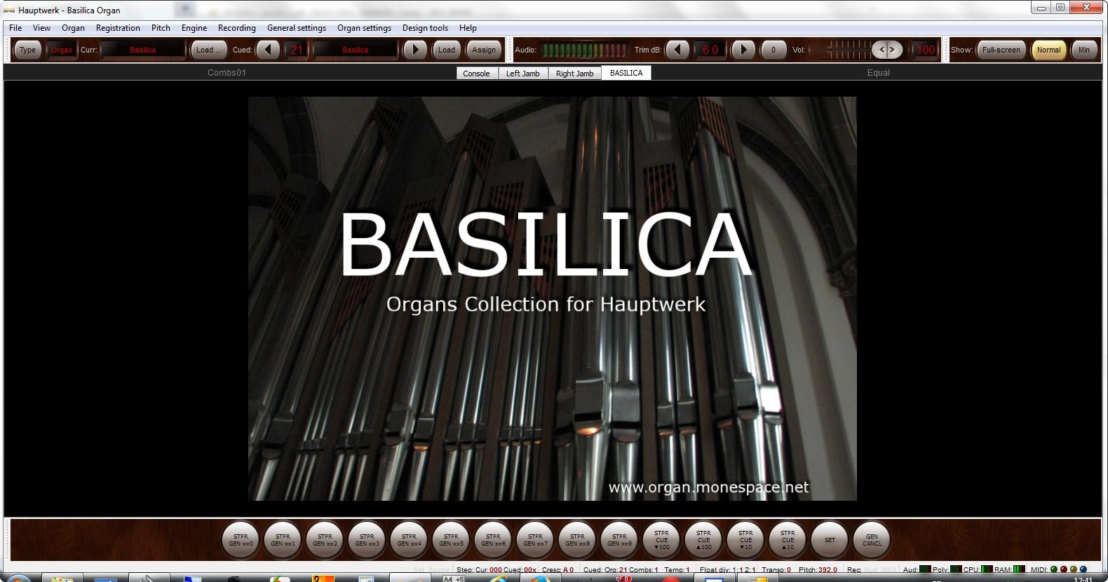 Basilica screenshoot