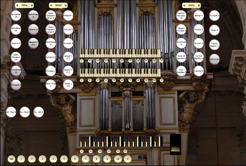 organ Ste Anne 2 manuals