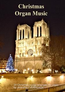 Xmas organ book