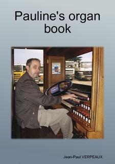 Cover of Pauline's organ book
