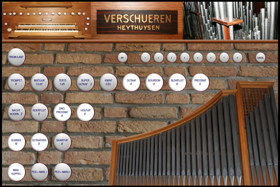 jeux de l'orgue