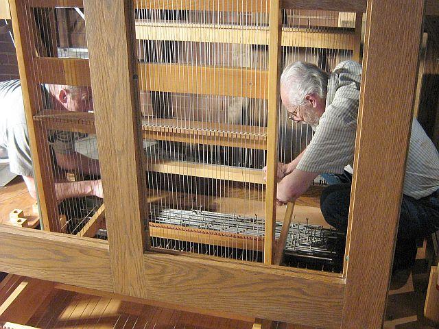 tringles de l'orgue