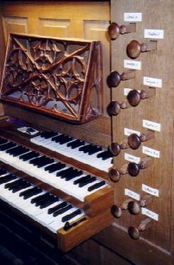 claviers de l'orgue